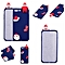 Christmas Cute 3D Cartoon Soft TPU Back Case Cover for iPhone 8/7 Plus 5.5 inch