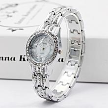 Duanxinyv-Luxury Ladies Watches Bracelet Metal Quartz Bracelet For Women Watches