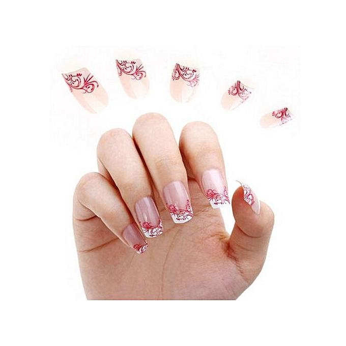 Buy Beauty Fancyqube New 3D Lace Flower Design Nail Art Manicure ...
