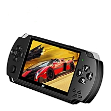 X6 4.3 Inch Handheld Game Console Video Game Player (Black)