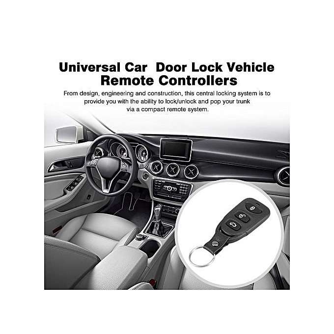 Generic Or Universal Car Remote Central Kit Door Lock Vehicle