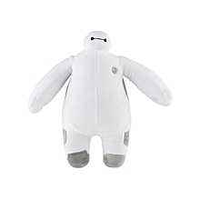 30CM Plush Action Figure of Baymax White Fat Toy Doll