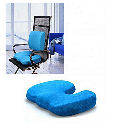 Memory Coccyx Orthopedic Car Seat Office Chair Cushion Lumbar Pain Relief Pillow