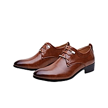 New business casual men's leather shoes