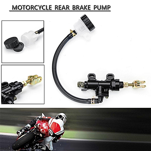 Motorcycle Universal Rear Master Cylinder Hydraulic Brake Pump Fluid  Reservoir B