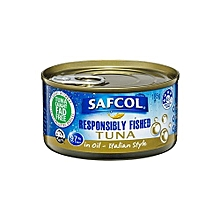 Responsibly Fished Tuna In Oil - Italian Style - 185g