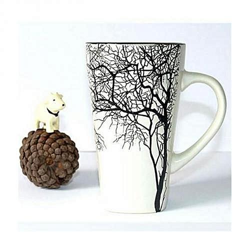 Latte Mug - White Branch