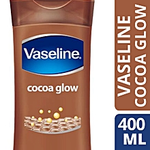 Vaseline Intensive Care Body Lotion Cocoa Glow - 400ML + Free vaseline petroleum jelly 50ml
