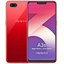 A3s -2GB RAM-16GB ROM-4G-13MP- Dual Sim- RED-Android 8.1-4230mAh-1.8GHZ Octacore