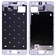Middle Frame Bezel Plate for Meizu PRO 7 (White)