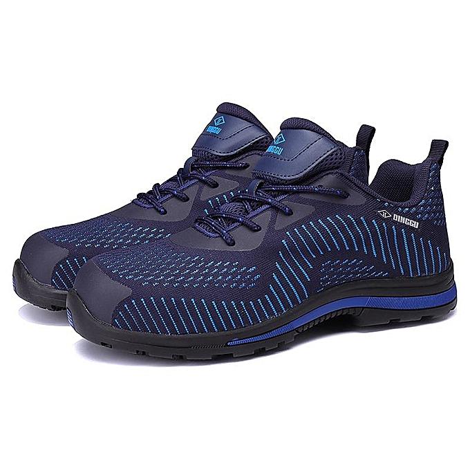 buy popular 5dd5c 95e9e Men s Steel Toe Lightweight Bulletproof Midsole Safety Shoes Athletic  Outdoor-EU