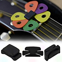 Professional Guitar HeadStock Pick Holder Rubber Musical instruments