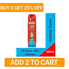 Doom - All Insect Killer Oduorless - 400ml