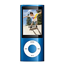 IPOD MP4 Mp3 PLAYER With Build In 4gb Memory With Earphone(Blue)