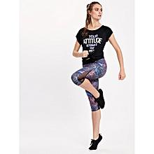 Multicoloured Fashionable Leggings