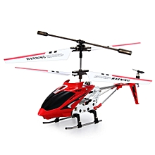S107G 3CH Remote Control Helicopter Alloy Copter With Gyroscope - Red