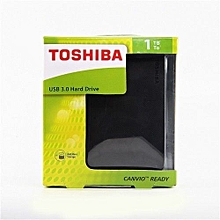 "Canvio Basics2 Hdd - 2.5""- 1Tb - Black"