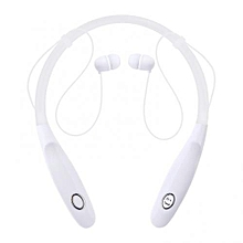 KBP -730 Stereo Neckband Wireless Sports Earphones - White
