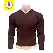 Chocolate Brown School Sweaters