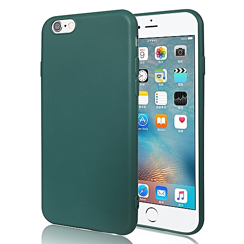 new style ac0a9 5ef79 for iphone 7 case Cell Phone Case For iPhone Soft silicone Cover-Black Green