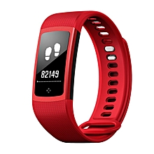 Smart Bracelet Wristband Sports Watch Distance Calorie Heart Rate Monitor Red