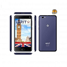 i5 - 5.5'' - 16GB - 2GB, Fingerprint ID Front,  8MP Camera - 4G Dual SIM - 4000mAh - Blue.