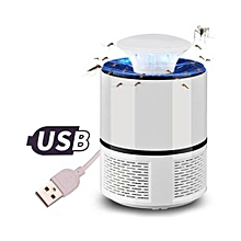 Mosquito Killer Insect USB Electronic Bedroom Lamp-White