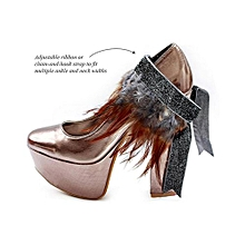 NGOMA Ankle Cuff - Multi Purpose Jewellery - Multi Purpose Jewellry - Chocolate Sable