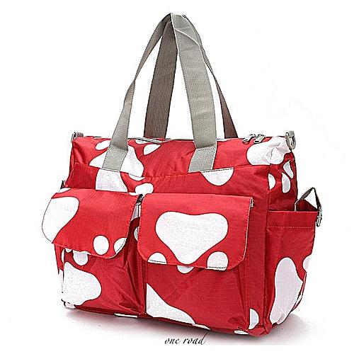 5b7b3abf3ef Generic New Waterproof Large Nappy Diaper Bags Changing Bag For Baby Women  Handbag Red   Best Price   Jumia Kenya