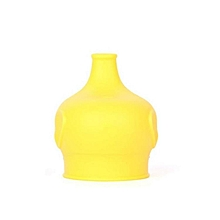Safety For Kids Silicone Sippy Lids - Make Most Cups a Sippy Cup Leak Proof-Yellow