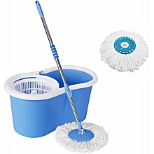 Flex Easy Wring Magic Cleaning 360 spin mob- Blue