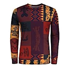 Totem Ethnic Printed Long Sleeve T-shirt