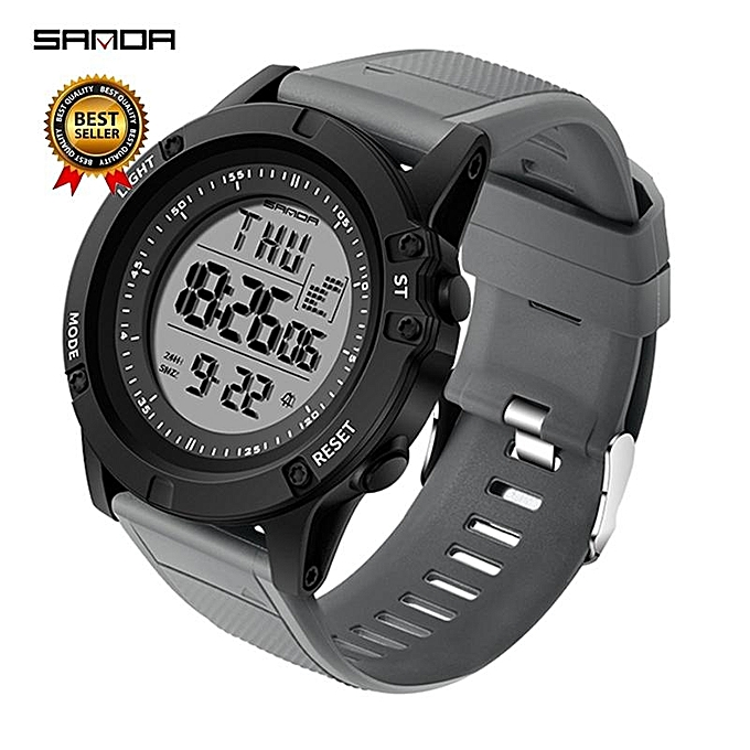 G Shock Waterproof >> Sanda Sanda Military Countdown Sport Watch Men G Shock Led Digital