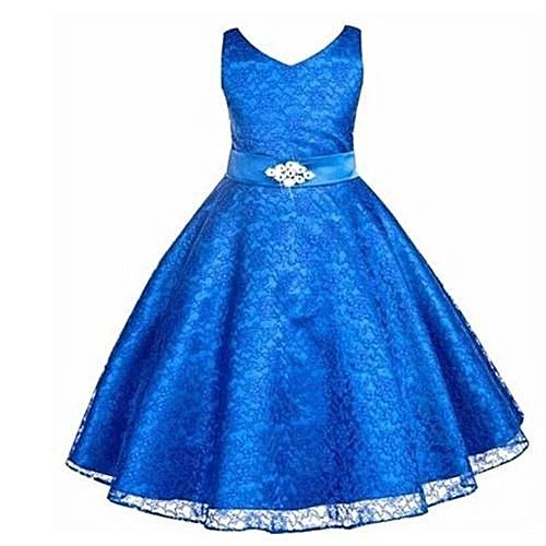 0f349f472 New Style Kids Summer Dress Girls Sleeveless Dress Skirt + Diamond Studded  Belt Girls Wedding Dress