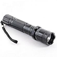 Black  Taser Flashlight 1101 Type  - Unique Self protection