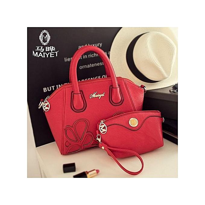 6b66312af97b 2016 Spring Top-Handle Bags Smiley PU Leather Tote Bag Women Trapeze  Fashion Designer Handbags
