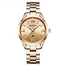 Women Quartz Watch (Gold)
