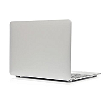 "For 12"" Macbook Case, Metal-color Hard Rubberized Cover For A1534 Macbook 12 Inch, Silver"