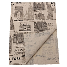 10 Vintage Europe Styles Natural Cotton Linen Fabric Cloth Sewing Craft F