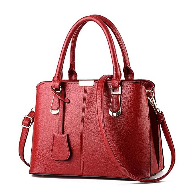 9d99914389 Women PU Leather Handbag Shoulder Lady Crossbody Bag Tote Messenger Satchel