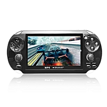 4.3inch Screen Game Console 8GB Memory Free Games MP5 Game Player With Camera-Black