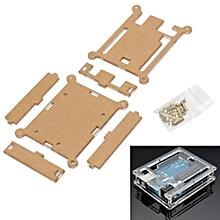 Enclosure Transparent Acrylic Box Case Clear Cover For Arduino UNO R3 Board