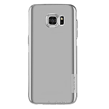 CO Mobile Phone Protective Case For Samsung Galaxy S7 Edge Transparent Back Cover-Grey