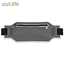 Breathable Lightweight Running Phone Waist Pack_FROST
