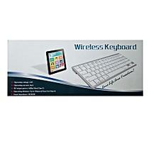 Wireless Bluetooth Keyboard - Black-Silver