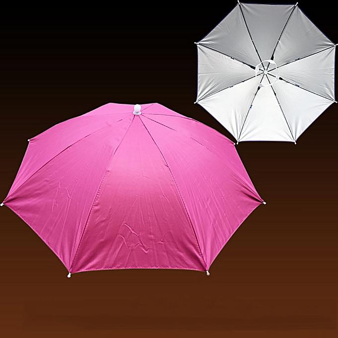 18c7733d8f4 Foldable Novelty Umbrella Sun Hat Golf Fishing Camping Fancy Dress  Multicolor yumisok ...