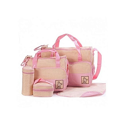 4823fa2590 Shoppers Shoulder Diaper Bags/Nappy Bag - Pink @ Best Price Online ...