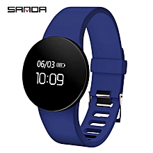 SANDA Bluetooth Smart Watch Men Women Sport Wristwatch Pedometer Fitness Watches For Android IOS Phone Waterproof Smartwatch SD03