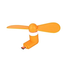 5Pin Portable Flexible Cooling Fan Mini Super Mute USB Cooler For Android Phone USB