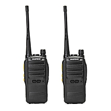 2Pcs BAOFENG S88 400-470MHz Transceiver Two Way Radio Walkie Talkie CTCSS CDCSS Voice Control US